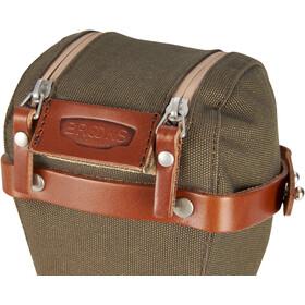 Brooks Isle of Wight Saddle Bag size M green/honey